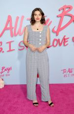 FRANCESCA REALE at To All the Boys: P.S. I Still Love You Premiere in Hollywood 02/03/2020
