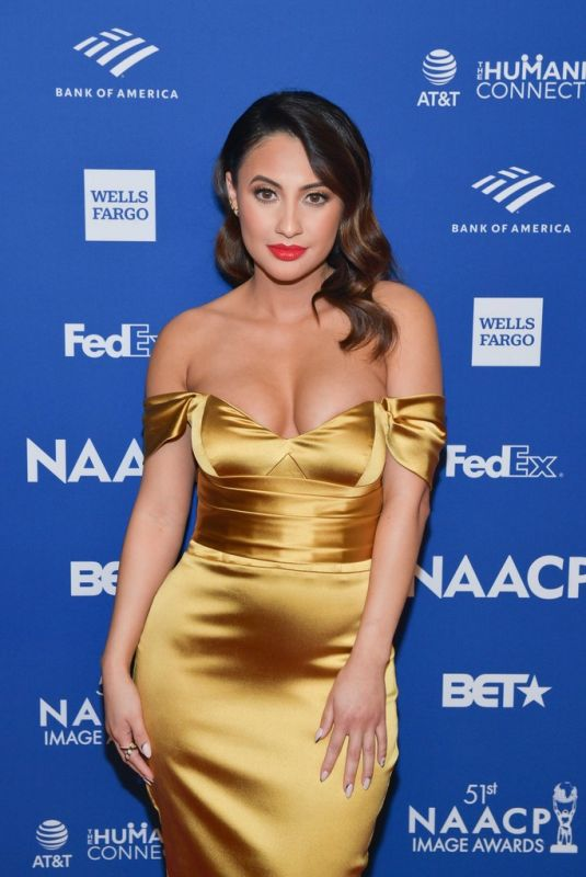 FRANCIA RAISA at 51st Naacp Image Awards Non-televised Awards Dinner in Hollywood 02/21/2020