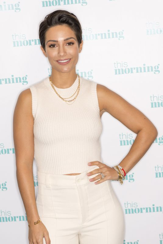 FRANKIE BRIDGE at This Morning TV Show in London 02/06/2020
