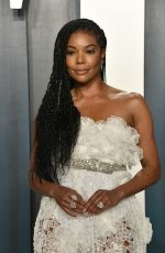 GABRIELLE UNION at 2020 Vanity Fair Oscar Party in Beverly Hills 02/09/2020