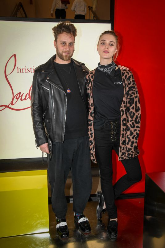 GAIA WEISS at Christian Louboutin Event in Paris 02/25/2020