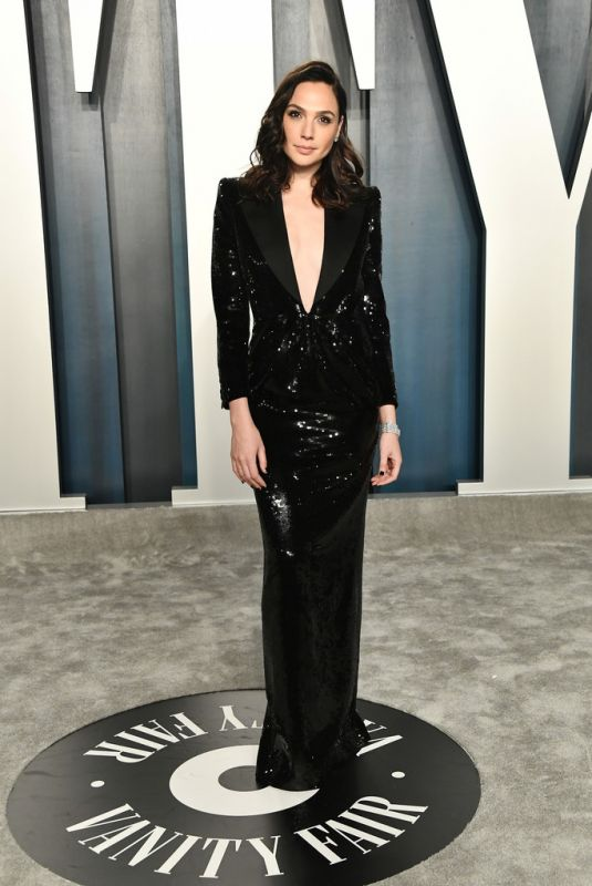 GAL GADOT at 2020 Vanity Fair Oscar Party in Beverly Hills 02/09/2020