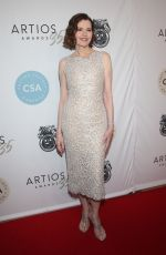 GEENA DAVIS at Casting Society of America's Artios Awards in Beverly Hills 01/30/2020