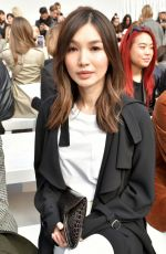 GEMMA CHAN at Max Mara Show at Milan Fashion Week 02/20/2020