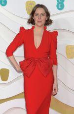 GEMMA WHELAN  at EE British Academy Film Awards 2020 in London 02/01/2020