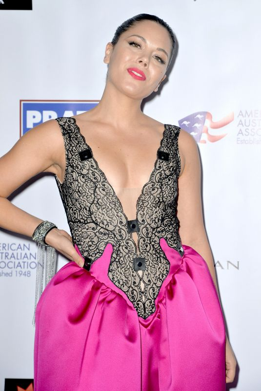 GEORGE MAPLE at American Australian Arts Awards in New York 01/30/2020