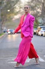 GEORGIA HIRST Leaves Her Hotel in Los Angeles 02/06/2020