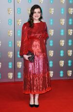 GEORGIE HENLEY at EE British Academy Film Awards 2020 in London 02/01/2020