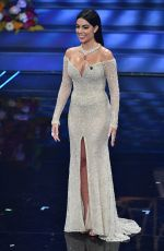GEORGINA RODRIGUEZ at 2020 Sanremo Music Festival, February 2020