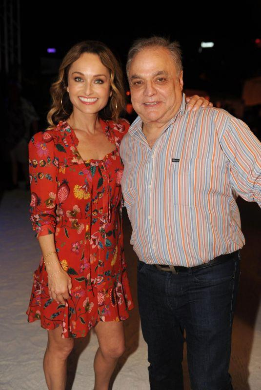 GIADA DE LAURENTIIS at Barilla's Italian Bites on the Beach in Miami 02/20/2020