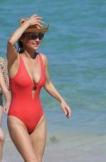 GIADA DE LAURENTIIS in Swimsuit at a Beach in Miami 02/20/2020