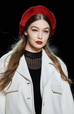 GIGI HADID at Marc Jacobs Fashion Show in New York 02/12/2020