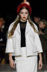 GIGI HADID at Marc Jacobs Runway Show at New York Fashion Week 02/12/2020