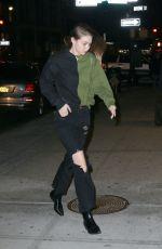 GIGI HADID Night Out in New York 02/09/2020