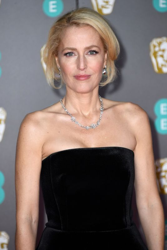 GILLIAN ANDERSON at EE British Academy Film Awards 2020 in London 02/01/2020
