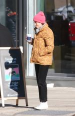 GILLIAN JACOBS Out for Coffee in New York 01/30/2020