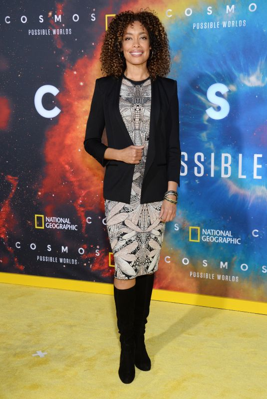 GINA TORRES at Cosmos: Possible Worlds Premiere in Los Angeles 02/26/2020