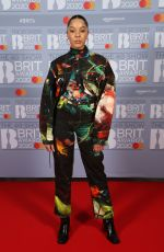 GRACE CARTER at Brit Awards 2020 in London 02/18/2020