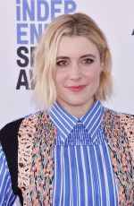 GRETA GERWIG at 2020 Film Independent Spirit Awards in Santa Monica 02/08/2020