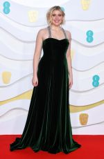 GRETA GERWIG at EE British Academy Film Awards 2020 in London 02/01/2020