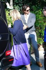 GWYNETH PALTROW and Brad Falchuk Leaving a Pre-oscar Party in Beverly Hills 02/08/2020
