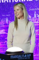 GWYNETH PALTROW Host Panel Discussion with Dr. Erel Margalit in New York 02/03/2020
