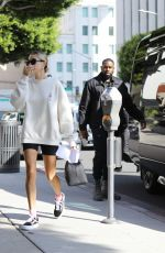 HAILEY and Justin BIEBER Arrives at a Spa Session for Valentine