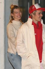 HAILEY and Justin BIEBER at Church Service in Los Angeles 02/12/2020
