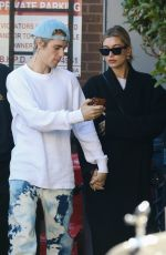 HAILEY and Justin BIEBER Out for Lunch in Beverly Hills 02/16/2020