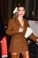 HAILEY BIEBER Arrives at Ferdi Restaurant in Paris 02/26/2020