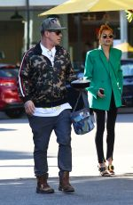 HAILEY BIEBER at South Beverly Grill in Hollywood 02/11/2020