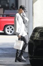 HAILEY BIEBER Leaves a Spa in Los Angeles 02/18/2020