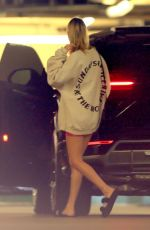 HAILEY BIEBER Out for Breakfast in Beverly Hills 02/01/2020