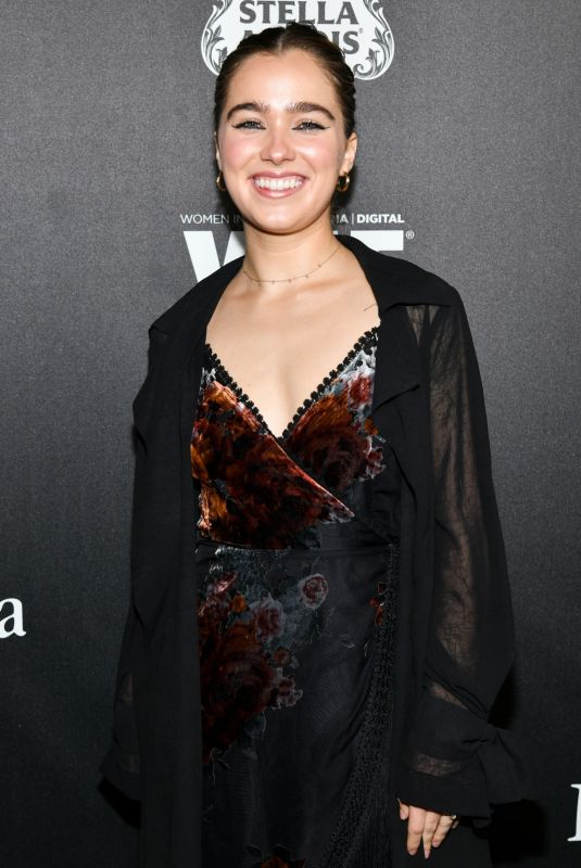 HALEY LU RICHARDSON at 13th Annual Women in Film Female Oscar Nominees Party in Hollywood 02/07/2020