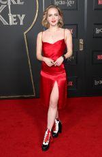 HALLEA JONES at Locke & Key Series Premiere in Hollywood 02/05/2020