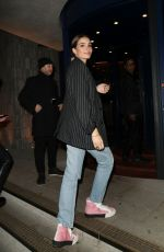 HANA CROSS Arrives at NME Awards After-party in London 02/12/2020