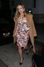 HEATHER GRAHAM at Madeo Restaurant in Beverly Hills 02/18/2020