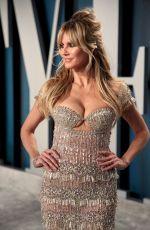 HEIDI KLUM at 2020 Vanity Fair Oscar Party in Beverly Hills 02/09/2020