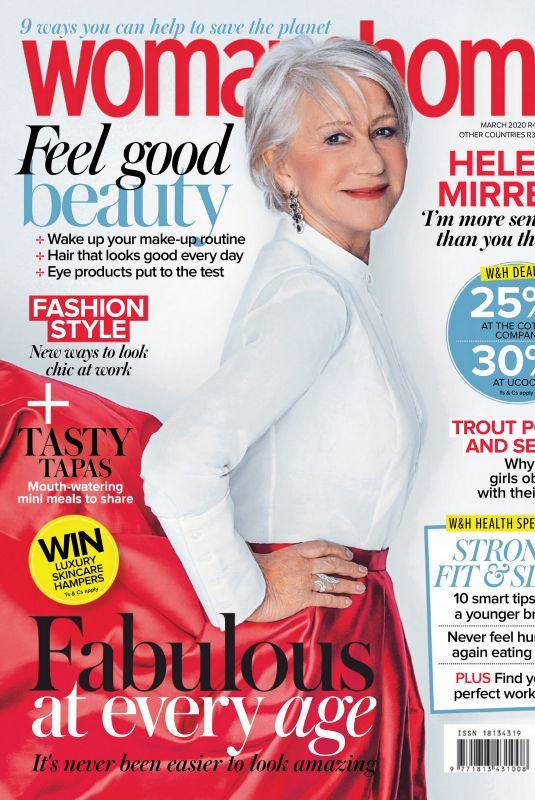 HELEN MIRREN in Woman & Home Magazine, South Africa March 2020