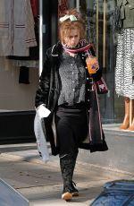 HELENA BONHAM CARTER Out in London 02/27/2020