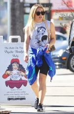 HILARY DUFF Heading to a Gym in Studio City 02/11/2020