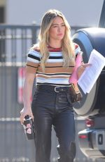 HILARY DUFF Heading to a Meeting in Los Angeles 02/06/2020