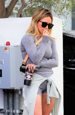 HILARY DUFF Leaves Yoga Class in Beverly Hills 02/28/2020