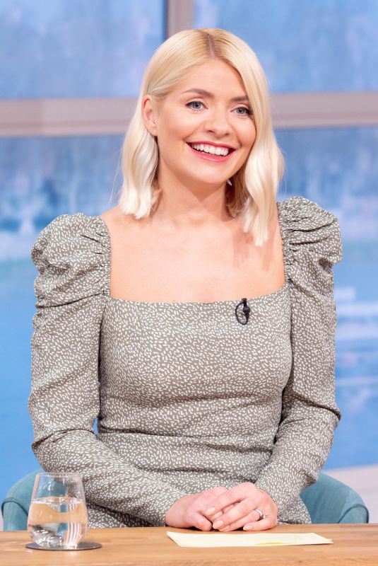HOLLY WILLOGHBY at This Morning TV Show in London 02/04/2020