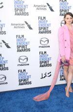 HUNTER HALEY KING at 2020 Film Independent Spirit Awards in Santa Monica 02/08/2020