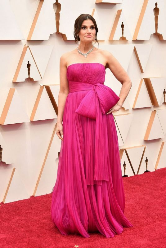IDINA MENZEL at 92nd Annual Academy Awards in Los Angeles 02/09/2020