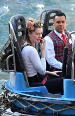IRELAND BALDWIN and Corey Harper Out at Disneyland 02/25/2020
