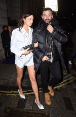 IRINA SHAYK Leaves Brit Awards Universal Music Afterparty in London 02/18/2020