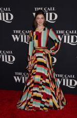 ISABELLA BLAKE-THOMAS at The Call of the Wild Premiere in Los Angeles 02/13/2020