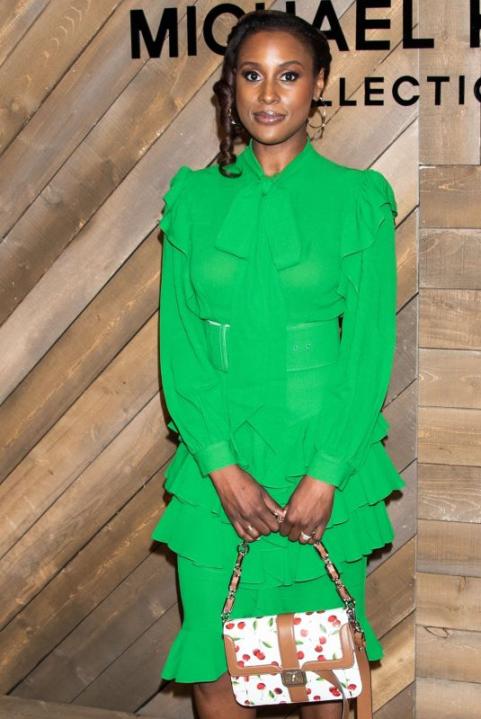 ISSA RAE at Michael Kors Show at New York Fashion Week 02/12/2020